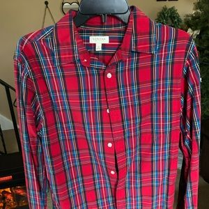 Men's Sonoma long sleeve button down knit shirt